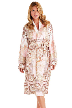 Pearl Maximum Pink Long Robe