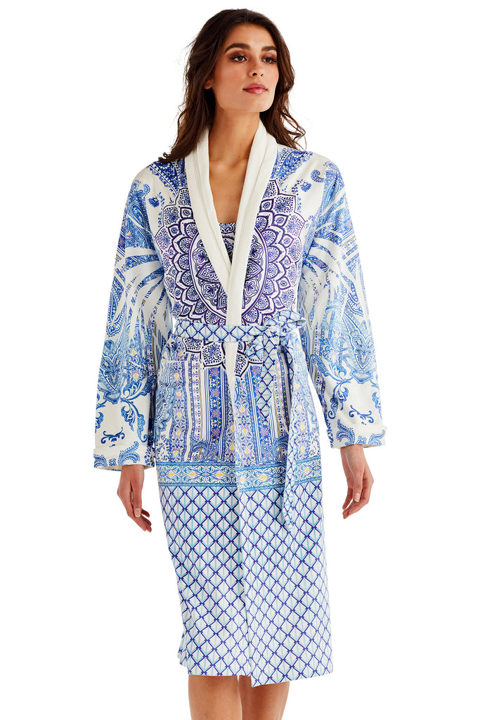 Blue Ceramic Long Robe