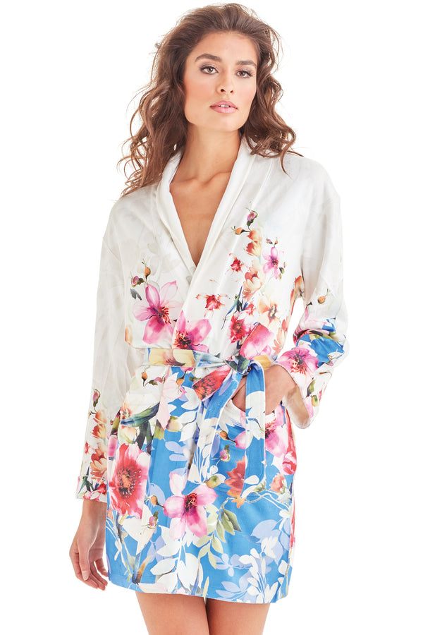 Spring Botanicals Short Robe