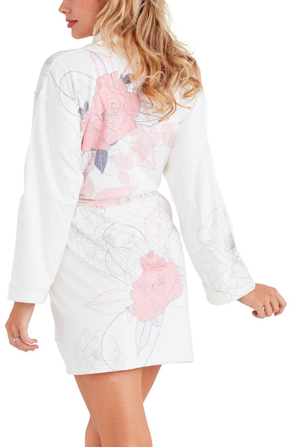 Chanel Pink Short Robe