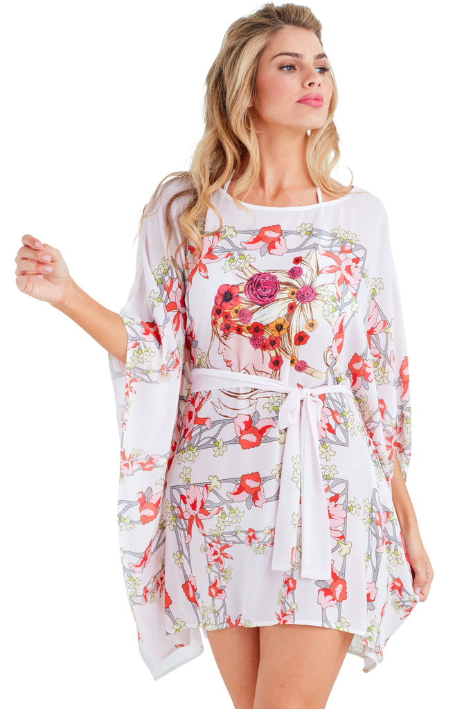 Ella Caftan Mini Dress