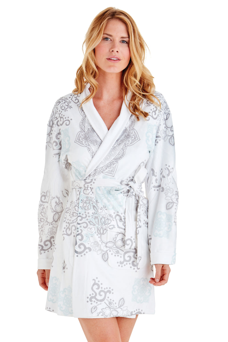Safi Short Robe