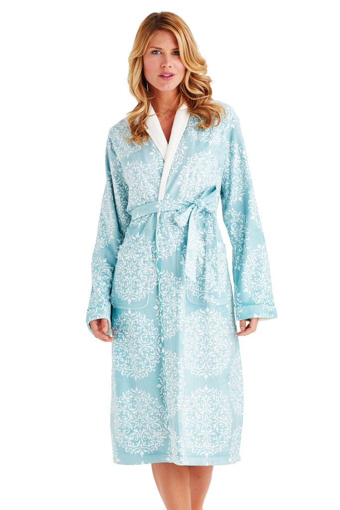 Silver Medallion Long Robe