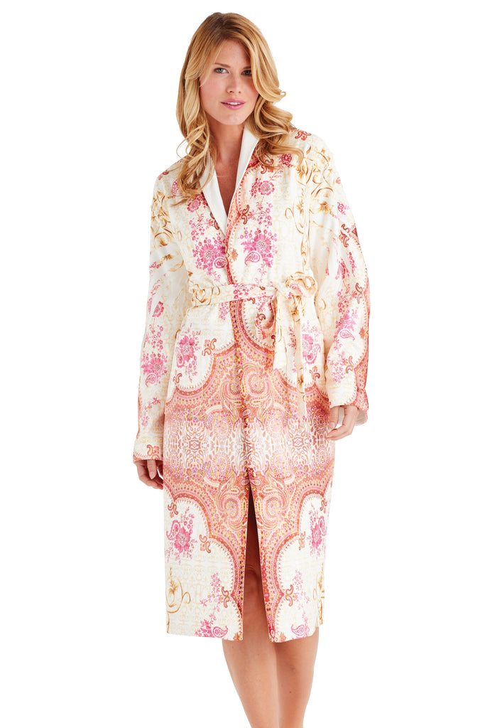 Marrakesh Pink Long Robe