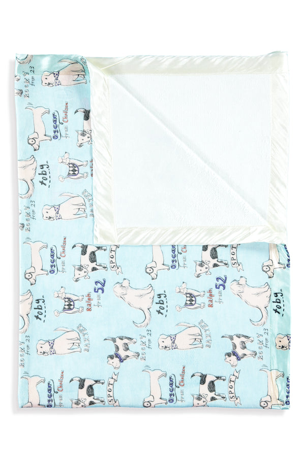Dogs Kids Small Blanket