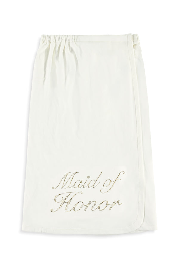 Maid of Honor Wrap - Gold