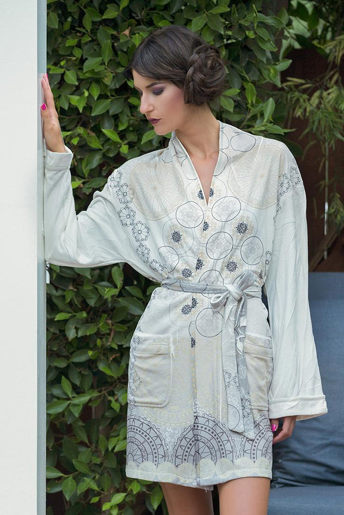 Cascade Short Robe