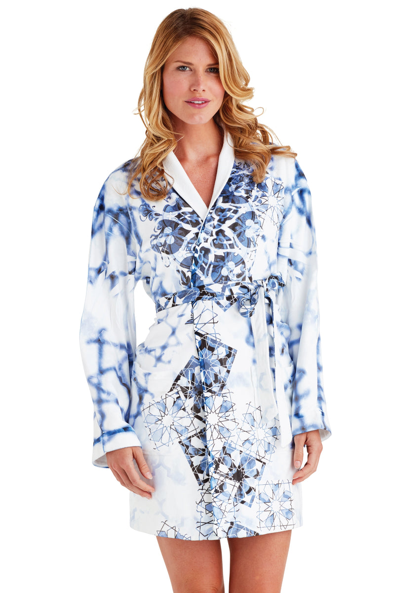 Casablanca Short Robe