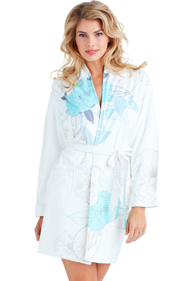 Chanel Blue Short Robe