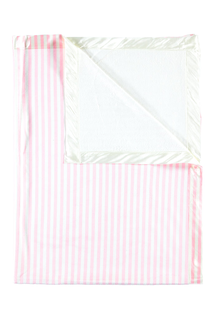 Pink Stripe Kids Small Blanket