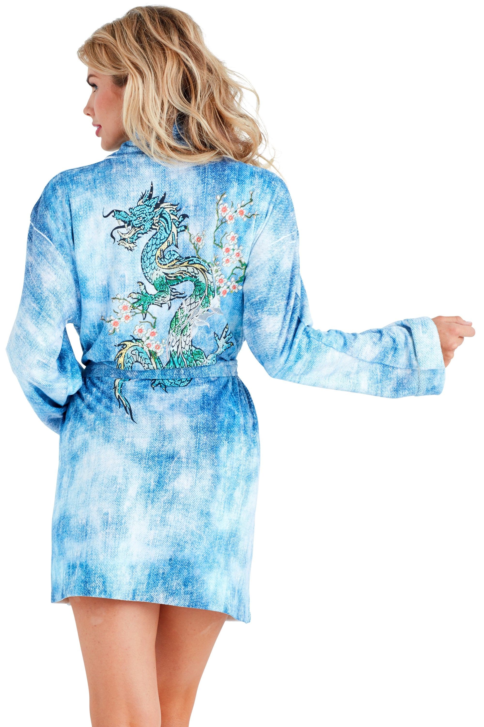 King Dragon Short Robe