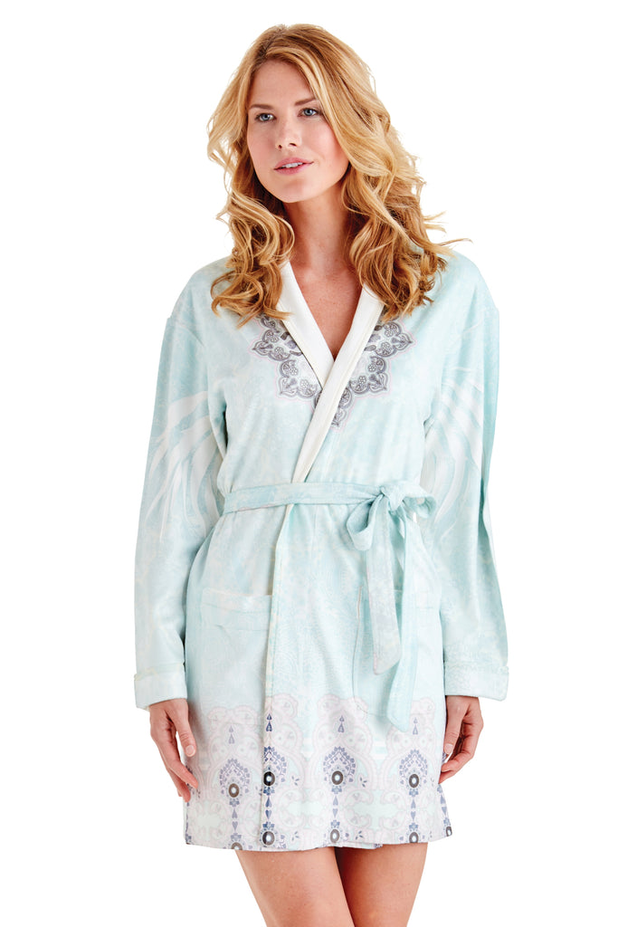 Zen Green Short Robe