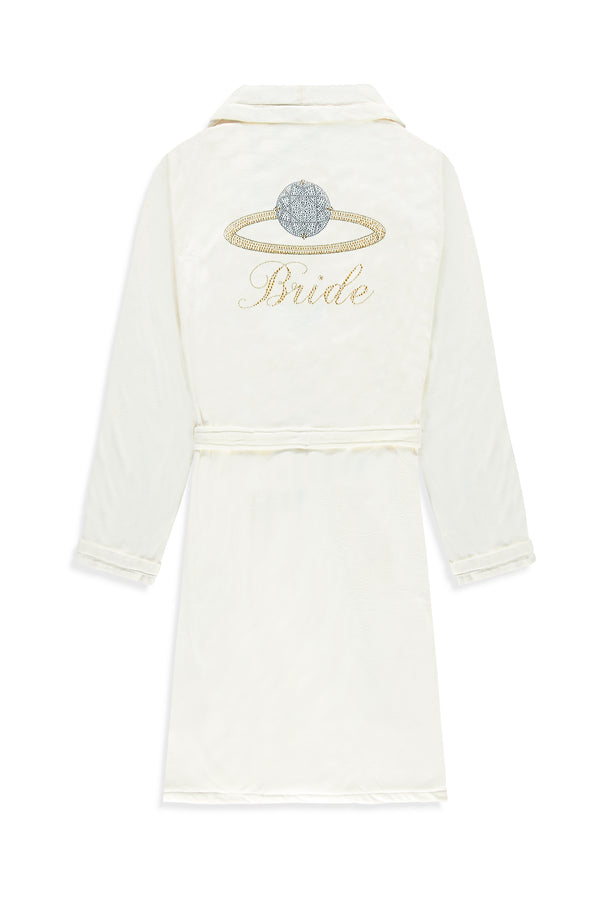 Bride Short Robe - Ring