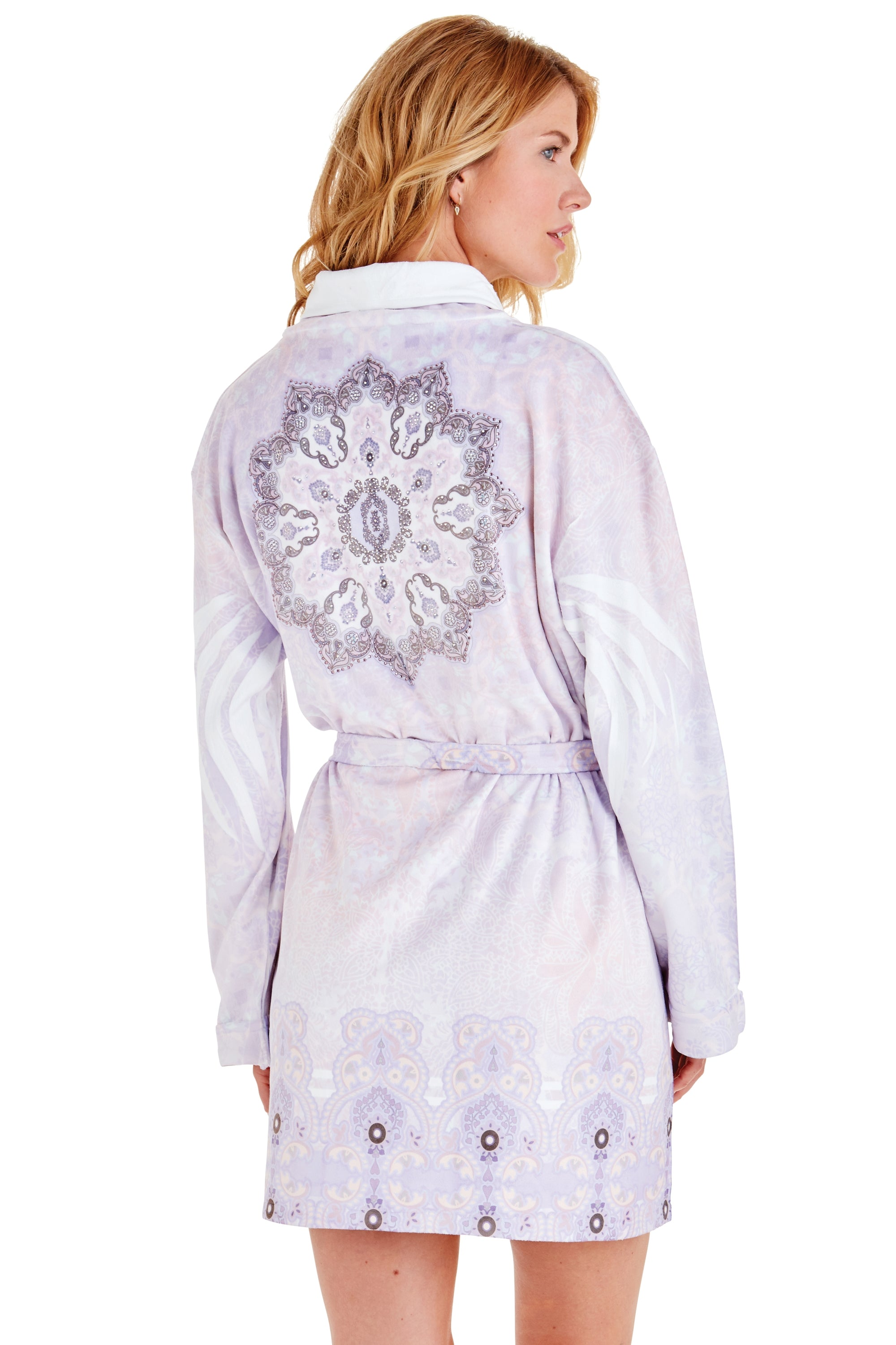 Zen Purple Short Robe