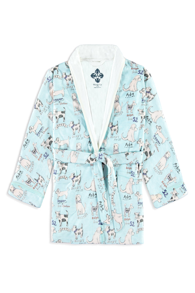 Street Pups Kids Robe