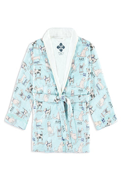 Dogs Kids Robe