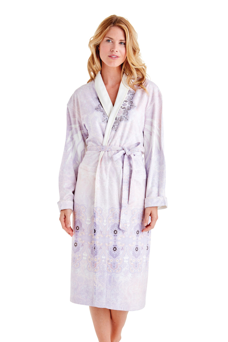 Zen Purple Long Robe