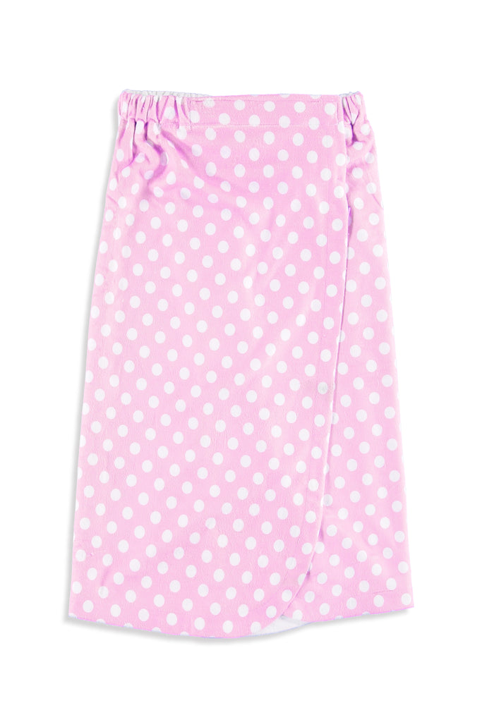 Pink Polka Dot Kids Wrap