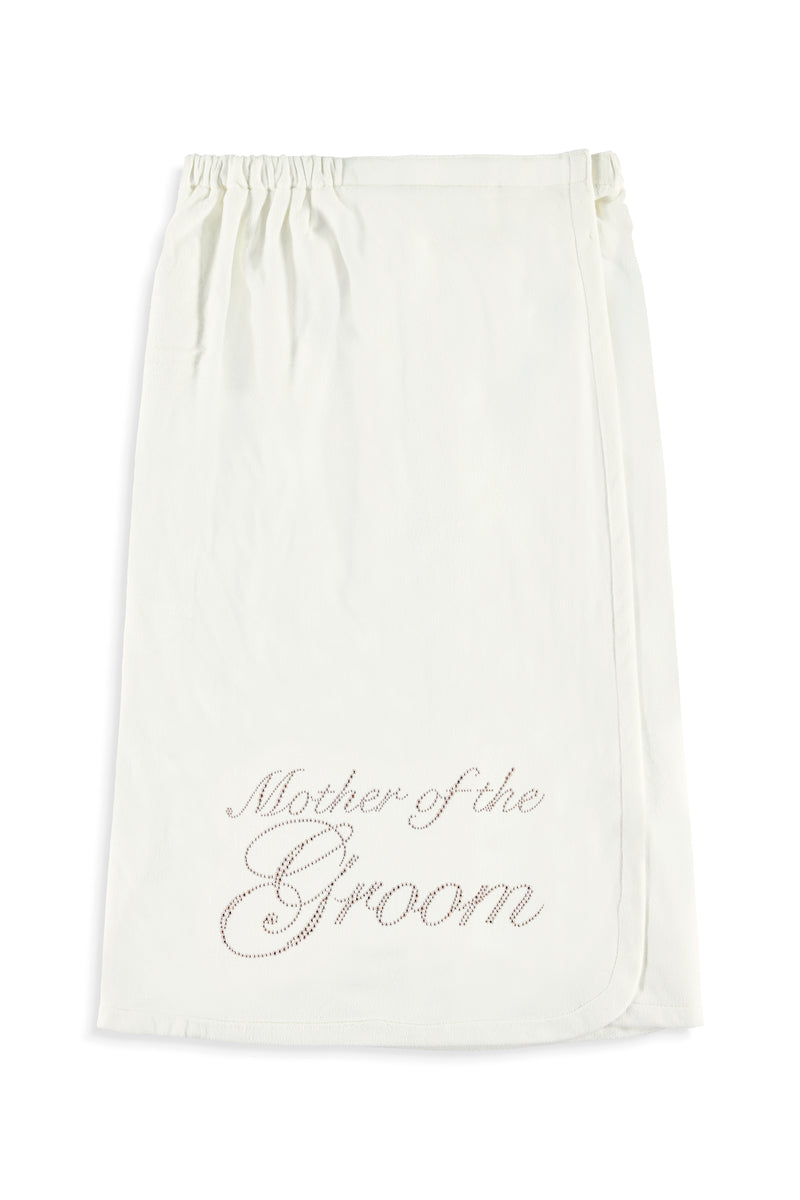 Mother of The Groom Rose Gold Body Wrap