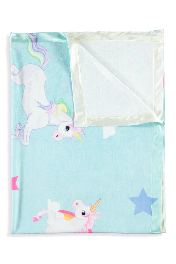 Unicorn Kids Small Blanket