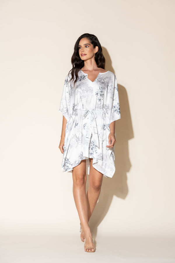 Silver Dream Short Caftan