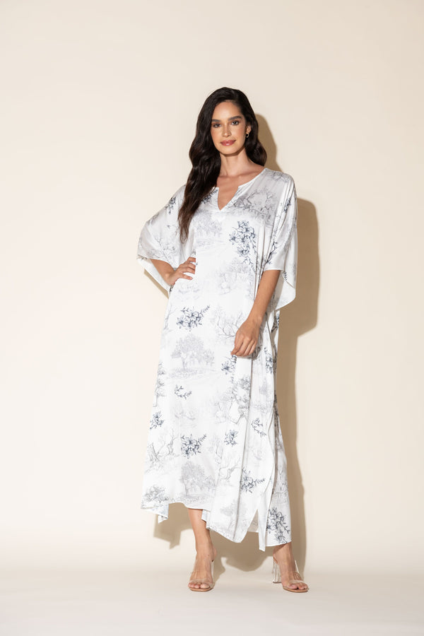 Silver Dream Long Caftan