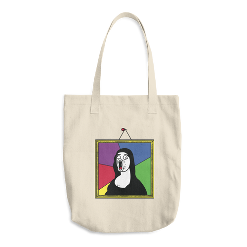 MEME-A LISA Tote Bag