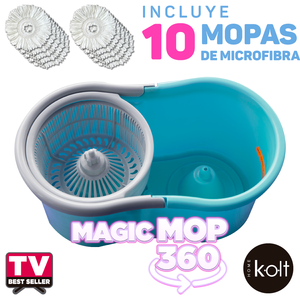 Magic Mop 360 Kolt - Azul