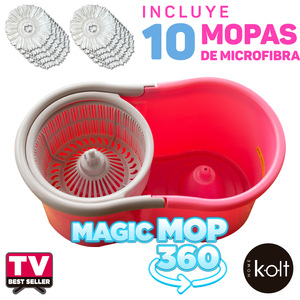 Magic Mop 360 Kolt - Rosa