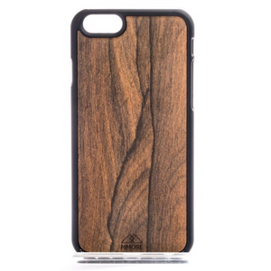 MMORE Wood Ziricote Phone case - Mr. Wooden