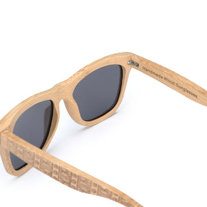 Graybeach Natural Sunglasses - Mr. Wooden