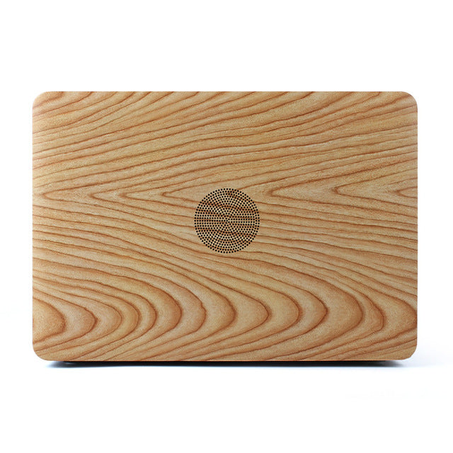 "Luxury Notebook Hard Case Cover for Apple Air 11"" 13""/Retina 12 inch Fashion Wood Pattern Laptop Sleeve Pro Retina 13 15 A1502 - Mr. Wooden"