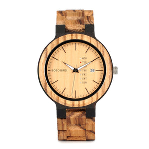 Bytrex Lux Watch - Mr. Wooden
