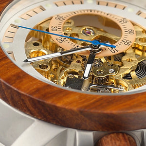 Vintage Bronze Skell Mechanical Automatic Watch - Mr. Wooden