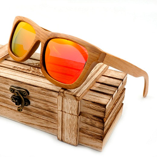 Chateau Low Sunglasses Orange/Yellow Lenses