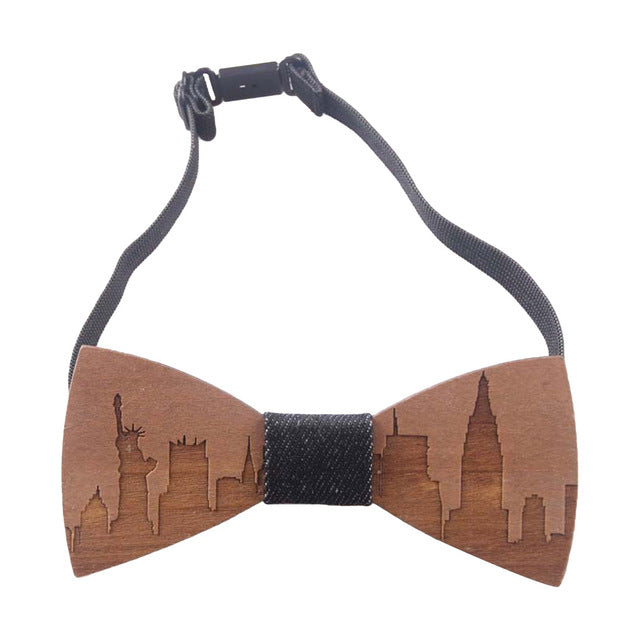Bow Tie City Skyline - Mr. Wooden