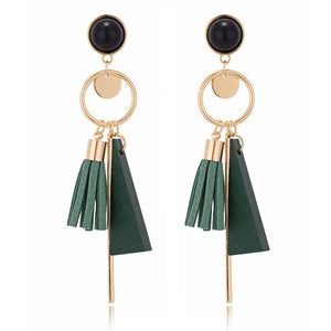 Tassell Earrings - Mr. Wooden