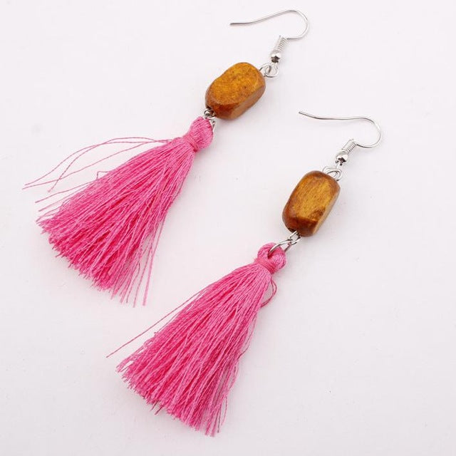 Bohemia Zhiling Earrings - Mr. Wooden