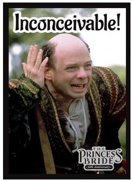 Princess Bride: Inconceivable! Card Sleeve