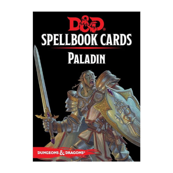 Dungeons and Dragons: Spellbook Cards - Paladin