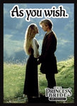Princess Bride: As you Wish Card Sleeve