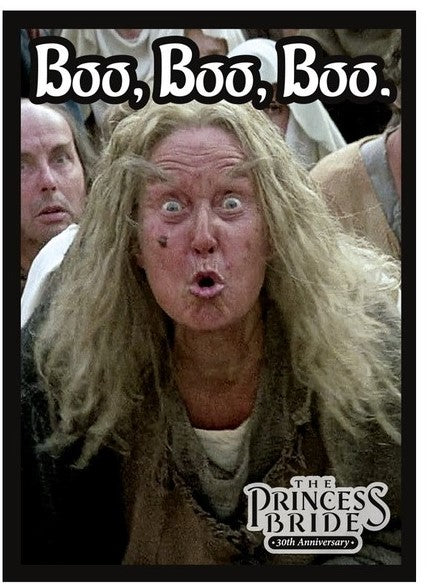 Princess Bride: Boo Boo Boo Card Sleeve