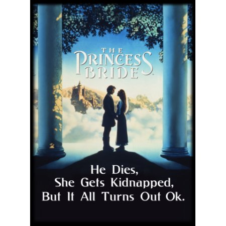 Princess Bride: Cover Card Sleeves