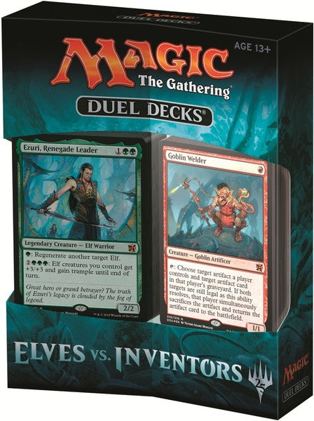 Magic: The Gathering Duel Deck - Elves Vs Inventors