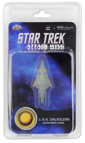Star Trek: Attack Wing -  Federation U.S.S Dauntless Expansion Pack