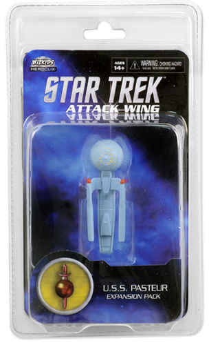 Star Trek: Attack Wing - Federation U.S.S Pasteur Expansion Pack