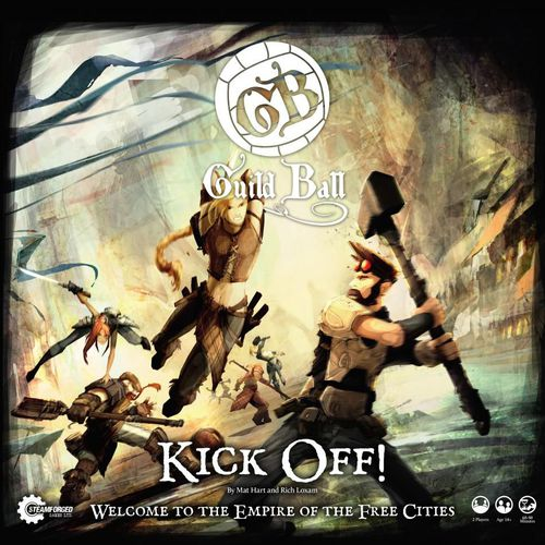 Guild Ball Kick Off! 2-Player Starter Set