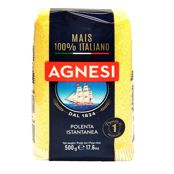 Agnesi - Polenta Bramata - 500g-The Italian Shop