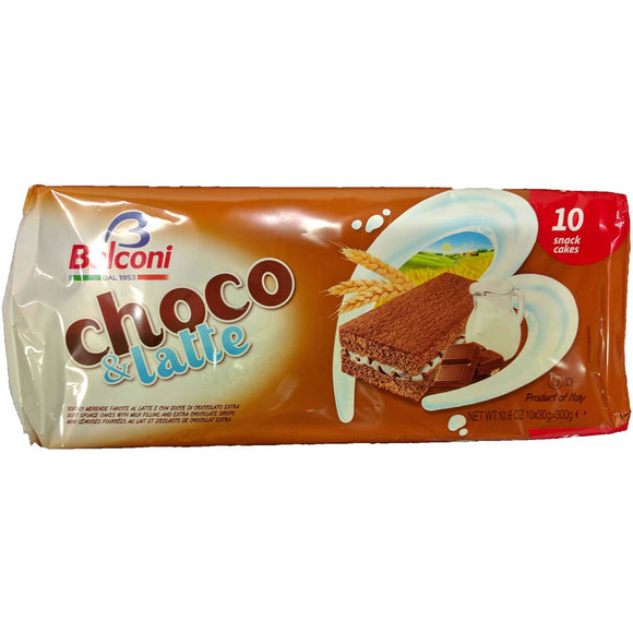 Balconi - choco & latte ( Sponge cakes ) - The Italian Shop - Free delivery