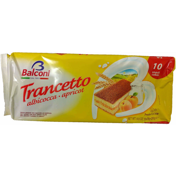 Balconi - Trancetto ( Apricot Sponge Cake ) - The Italian Shop - Free delivery
